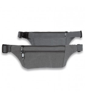 Fanny pack, Barbare toile, gris