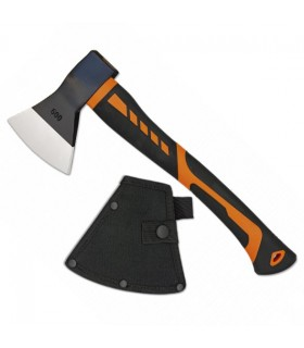 Axe tactique Albainox Orange 43 cms.