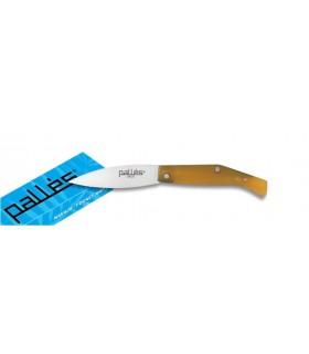 manche de couteau en plastique ABS, lame de 10 cm.