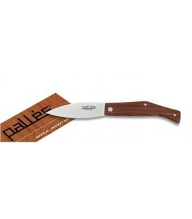 manche en bois de couteau, la lame 9 cm.
